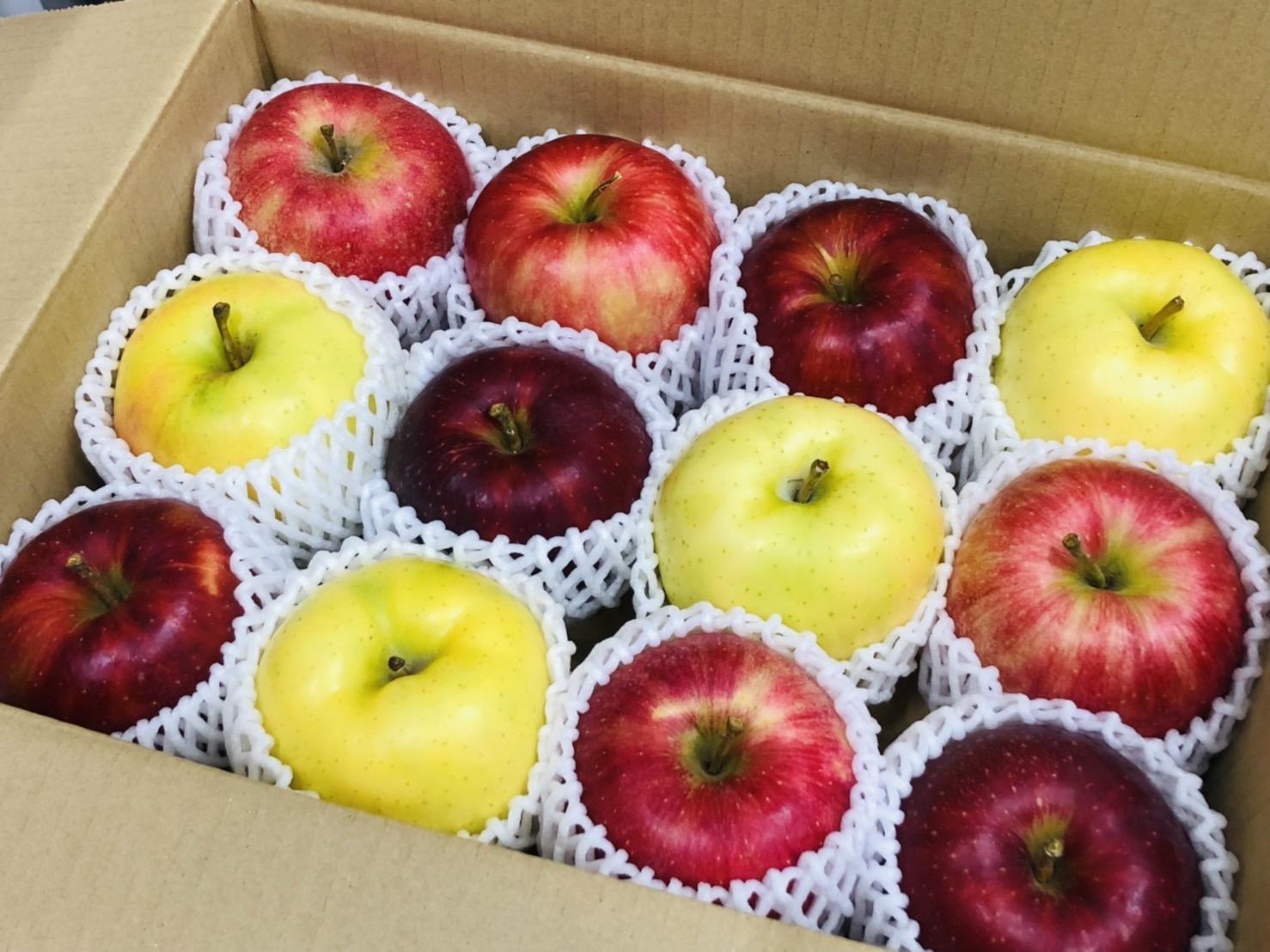 秋のりんごボックス